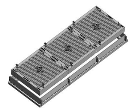 Solid Top Trench Cover & Frame - Class D