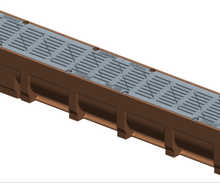 Ductile Grates with Poly Channel