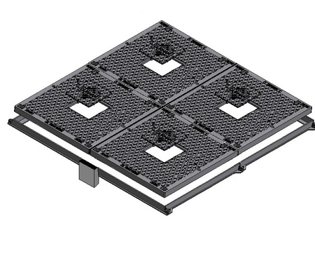 Solid Top Multiple Part Access Covers - Class B