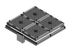 Solid Top Mulitple Part Access Covers - Class D