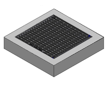 600 x 600 C/O Pit Cover - Class A