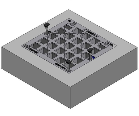 600 x 600 C/O Pit Cover - Class B
