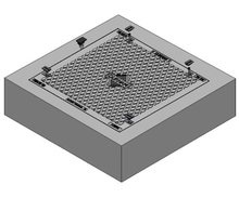 600 x 600 C/O Pit Cover - Class D