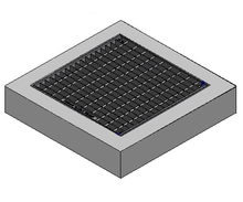 900 x 600 C/O Pit Cover - Class A