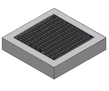 900 x 900 C/O Pit Cover - Class A