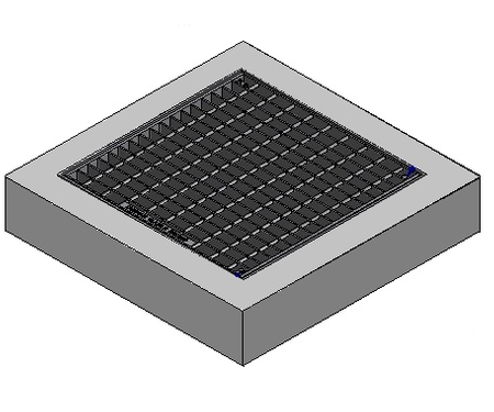 1200 x 900 C/O Pit Cover - Class A