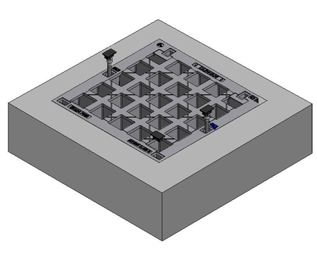 1200 x 900 C/O Pit Cover - Class B