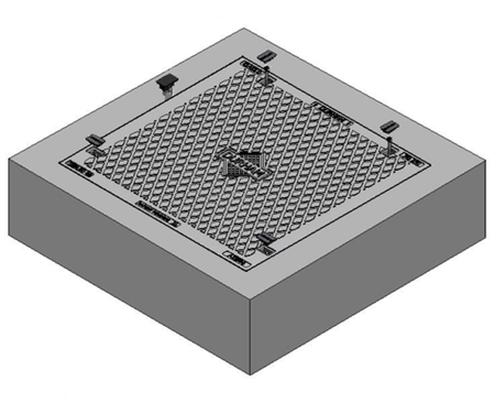 1200 x 900 C/O Pit Cover - Class D
