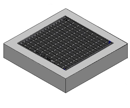 1200 x 1200 C/O Pit Cover - Class A