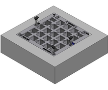1200 x 1200 C/O Pit Cover - Class B