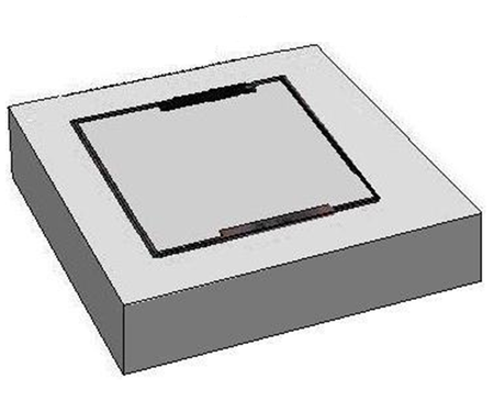 1200 x 1200 C/O Pit Cover - Class C