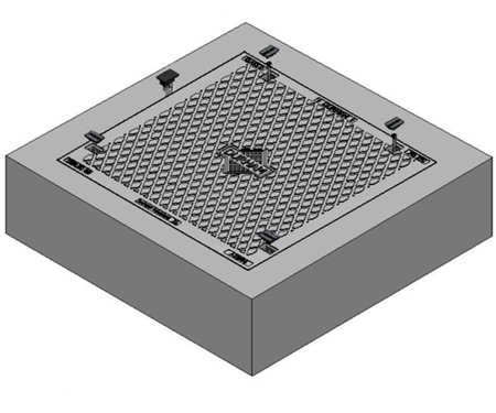 1200 x 1200 C/O Pit Cover - Class D