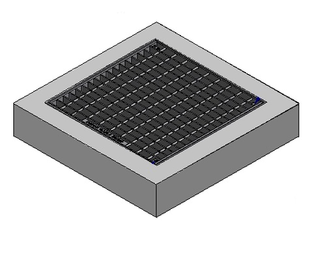 450 x 450 C/O Pit Cover - Class A