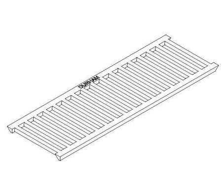Cast Iron Trench Grate - Class A