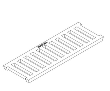Cast Iron Trench Grate - Class B