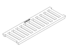 Cast Iron Trench Grate - Class D