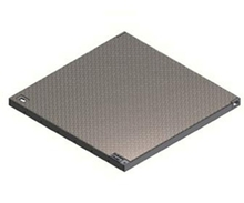 Galvanised Chequer Plate Drop In Cover - LT