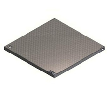 Galvanised Chequer Plate Drop In Cover - HT