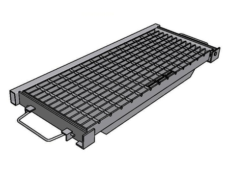 Galvanised Kerb Inlet Grate & Frame - Class D