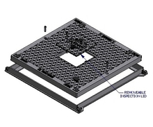 Solid Top Access Cover & Frame - Class B