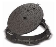 Solid Top KORUM Round Cover & Frame - Class D