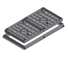Two Part Infill Access Cover & Frame - Class C