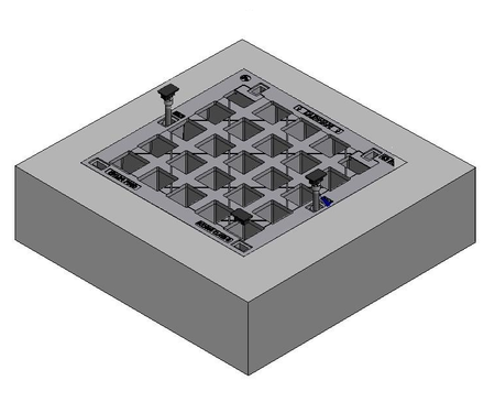 450 x 450 C/O Pit Cover - Class B