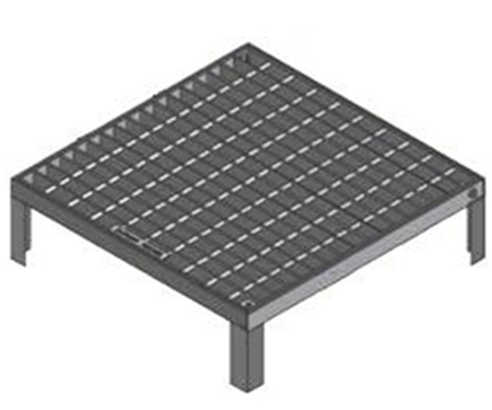 Surcharge Grate & Frame MSXXCL-B