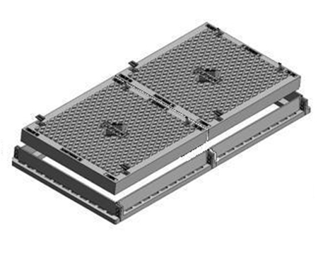 Two Part Solid Top Cover & Frame - Class D