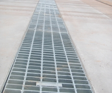 Galvanised Trench Grate - Commercial Driveway.JPG